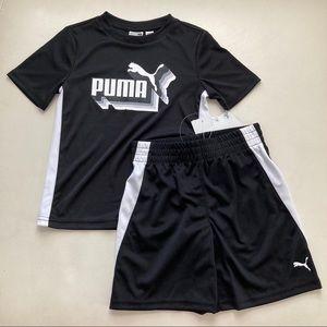Puma boy active shorts set 2198